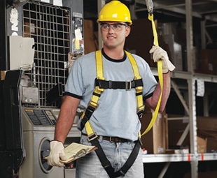MSA's new fall-protection harness