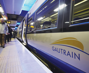 "The Gautrain – nice for some, but hardly ""viable public transport."""